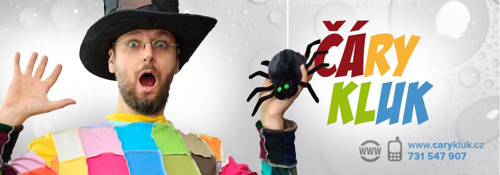 Čáry Kluk - kouzelný kouzelník