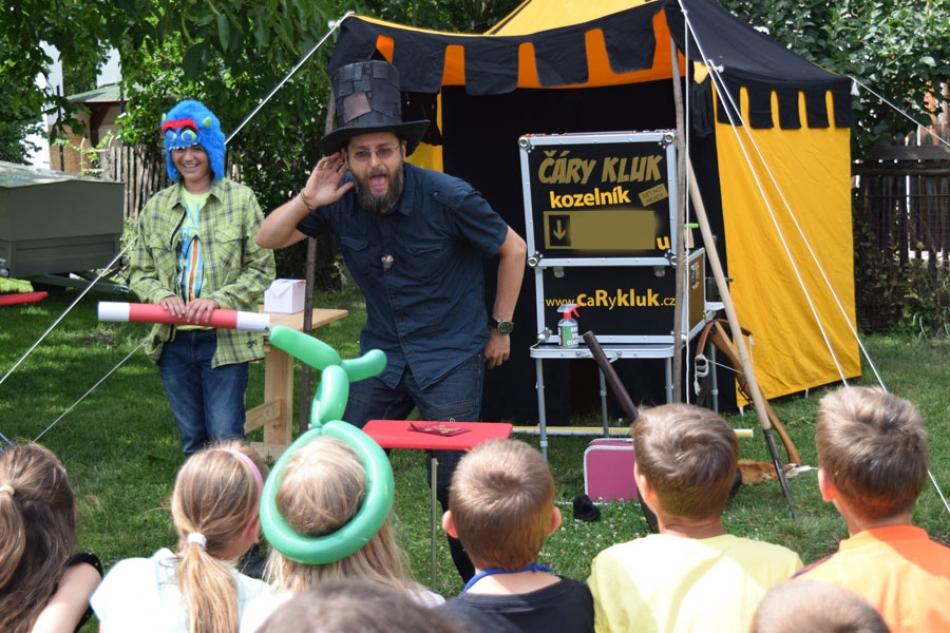Kouzelník nejen pro děti ČÁRY KLUK