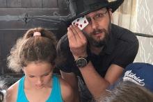 Karta za kloboukem