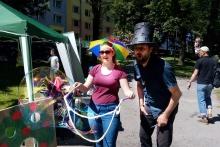 Kouzelník ČÁRY KLUK a bublinářka